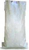 белый мешок наполнен и зашит