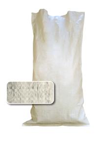 белый мешок наполнен и зашит 1