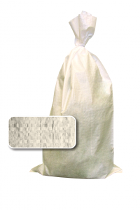 белый мешок наполнен и завязан 1