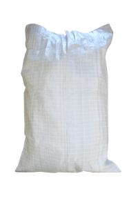 серый мешок наполнен и зашит 1+