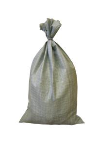 серый мешок наполнен и завязан 1(1)